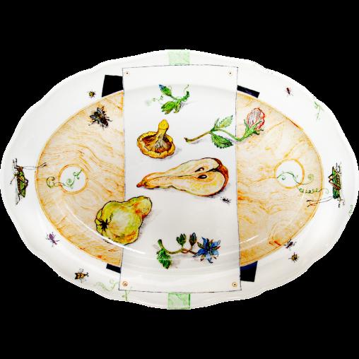 Herbstgericht-(Porzellan